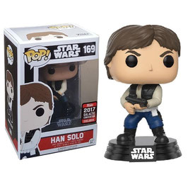 FIGURA POP! STAR WARS (HAN SOLO ACTION POSE) SW-CELEBRATION 2017 nº169
