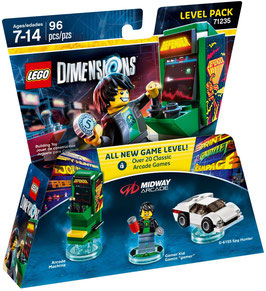 LEGO DIMENSIONS 71235 MIDWAY ARCADE (LEVEL PACK)