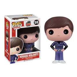 FIGURA POP! BIG BAND THEORY (HOWARD WOLOWITZ) nº59