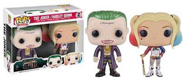 FIGURA POP! SUICIDE SQUAD PACK 2 (Metallic Joker & Harley Quinn)