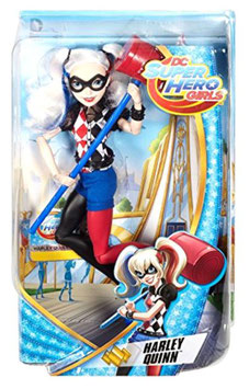 MUÑECA DC SUPER HERO GIRLS BLISTER (HARLEY QUINN)