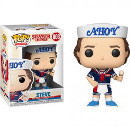 FIGURA POP! STRANGER THINGS (STEVE WITH HAT AND ICE) Nº 803