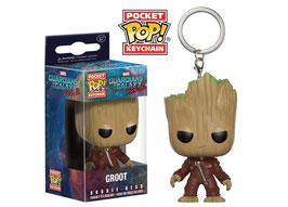 LLAVERO POCKET POP! GUARDIANES DE LA GALAXIA VOL.2 (GROOT TRAJE)