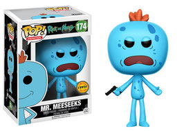 FIGURA POP! RICK Y MORTY (MR. MEESEEKS) CHASE LIMITED