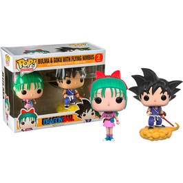 FIGURA POP! DRAGON BALL Z - PACK DE 2 (GOKU NUBE & BULMA) nº02