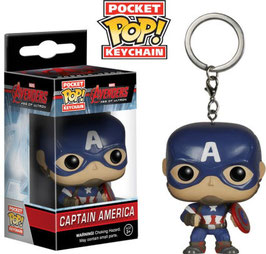 LLAVERO POCKET POP! MARVEL (CAPITAN AMERICA)