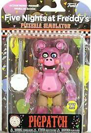 FIGURA ARTICULADA FIVE NIGHTS AT FREDDY'S (PIGPATCH) GITD