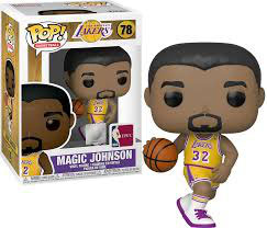 FIGURA POP! NBA LAKERS (MAGIC JOHNSON) Nº78