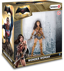 FIGURA SCHLEICH WONDER WOMAN CAJA (BATMAN V SUPERMAN)