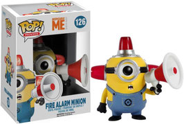 FIGURA POP! DESPICABLE ME / GRU MI VILLANO FAVORITO (FIRE ALARM MINION)