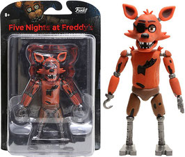 FIGURA ARTICULADA FIVE NIGHT AT FREDDY'S (FOXY GITD)