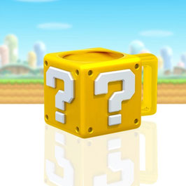 SUPER MARIO TAZA SHARPED QUESTION BLOCK