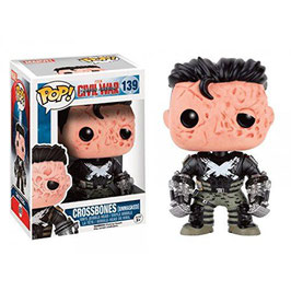 FIGURA POP! CROSSBONES UNMASKED CIVIL WAR nº139