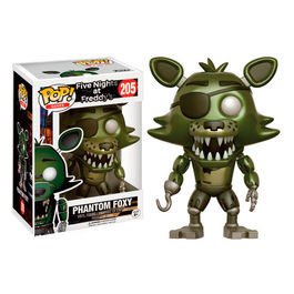 FIGURA POP! FIVE NIGHTS AT FREDDY'S (PHANTOM FOXY) nº205