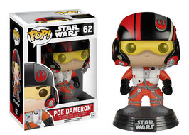 FIGURA POP! STAR WARS (POE DAMERON Nº62)
