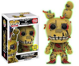FIGURA POP! FIVE NIGHTS AT FREDDY (SPRINGTRAP GITD)