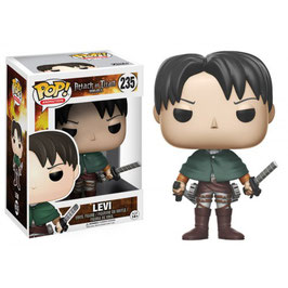 FIGURA POP! ATTACK ON TITAN (LEVI ACKERMAN) nº235