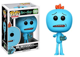 FIGURA POP! RICK Y MORTY (MR. MEESEEKS WITH BOX)