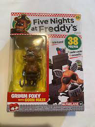 FNAF CONTRUCCION KIT MCFARLANE (GRIMM FOXY WITH CORN MAZE 38 PCS)