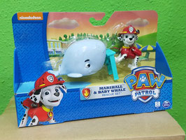 PATRULLA CANINA MARSHALL & BABY WHALE RESCUE SET