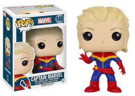 FIGURA POP! MARVEL-UNMASKED CAPTAIN MARVEL nº148