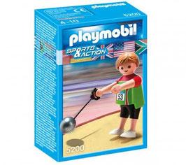 PLAYMOBIL LANZAMIENTO DE MARTILLO 5200