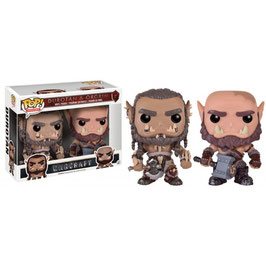 FIGURA POP! WARCRAFT PACK 2 (DUROTAN & ORGRIM)