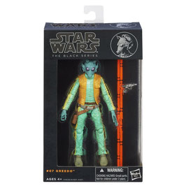 STAR WARS THE BLACK SERIES - GREEDO 07