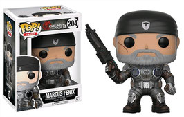 FIGURA POP! GEARS OF WAR (MARCUS FENIX OLD MAN) nº204
