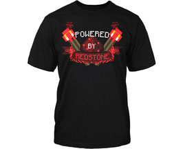 CAMISETA MINECRAFT (POWERED BY REDSTONE) M/C