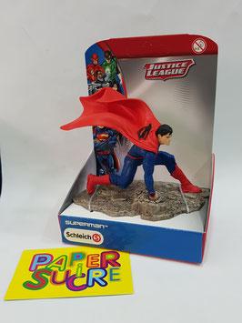 FIGURA SCHLEICH SUPERMAN ARRODILLADO