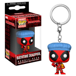 LLAVERO POCKET POP! DEADPOOL BATHTIME