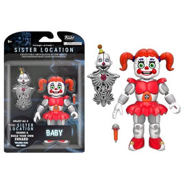 FIGURA ARTICULADA FIVE NIGHTS AT FREDDY'S SISTER LOCATION (BABY)