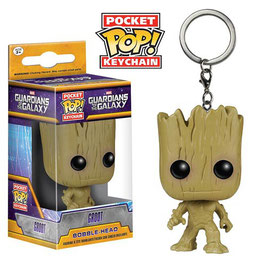LLAVERO POCKET POP! GUARDIANES DE LA GALAXIA (GROOT)