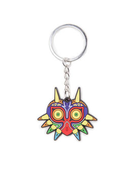 LLAVERO THE LEGEND OF ZLEDA CAUCHO MAJORA'S MASK 7CM