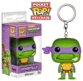 LLAVERO POCKET POP! TORTUGAS NINJA (DONATELLO)