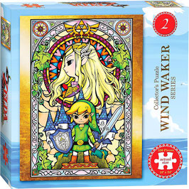 PUZZLE LEGEND OF ZELDA WIND WAKER VER.2 (550 piezas)