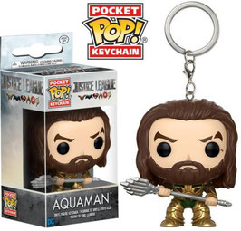 LLAVERO POCKET POP! JUSTICE LEAGUE (AQUAMAN)