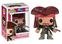 FIGURA POP! JACK SPARROW (DISNEY) nº48