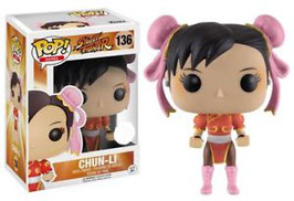 FIGURA POP! STREET FIGHTER (CHUN-LI RED OUTFIT)
