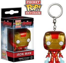 LLAVERO POCKET POP! MARVEL AVENGERS (IRON MAN)