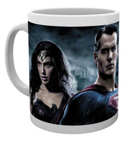 TAZA BATMAN V SUPERMAN - WONDER WOMAN & SUPERMAN
