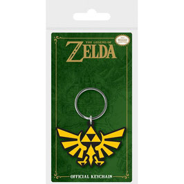 LLAVERO CAUCHO LEGEND OF ZELDA TRIFORCE
