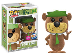 FIGURA POP! YOGI BEAR (YOGI BEAR FLOCKED)