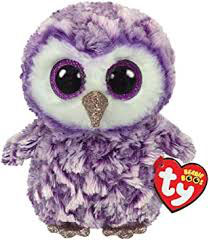 PELUCHE TY BUHO (MOONLIGHT)