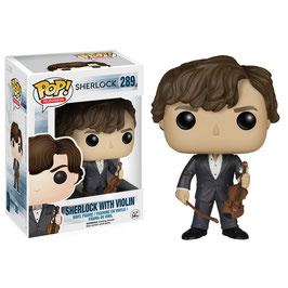 FIGURA POP! SHERLOCK (SHERLOCK WITH VIOLIN)