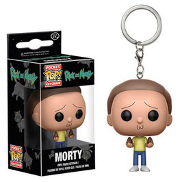 LLAVERO POCKET POP! RICK Y MORTY (MORTY)