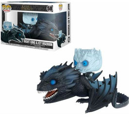 FIGURA POP! JUEGO DE TRONOS (NIGHT KING & ICY VISERION)