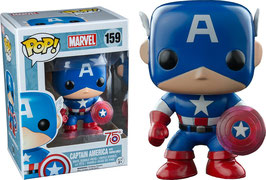 FIGURA POP! CAPITAN AMERICA WITH PHOTON SHIELD 75th (MARVEL) nº159
