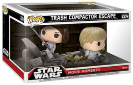 FIGURA POP! STAR WARS PACK 2 FIGURAS MOVIE MOMENTS (TRASH COMPACTOR ESCAPE)